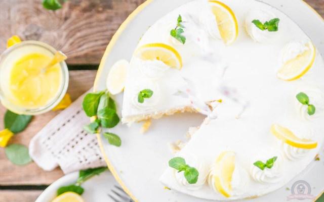 Lemon Curd Wickeltorte – ein Törtchen für's Geburtstagskind…