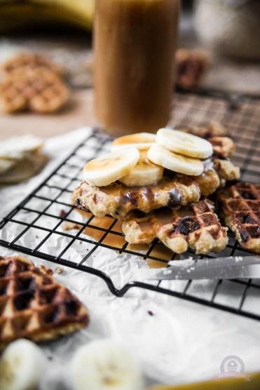 Chocolate Chip Oatmeal Waffles
