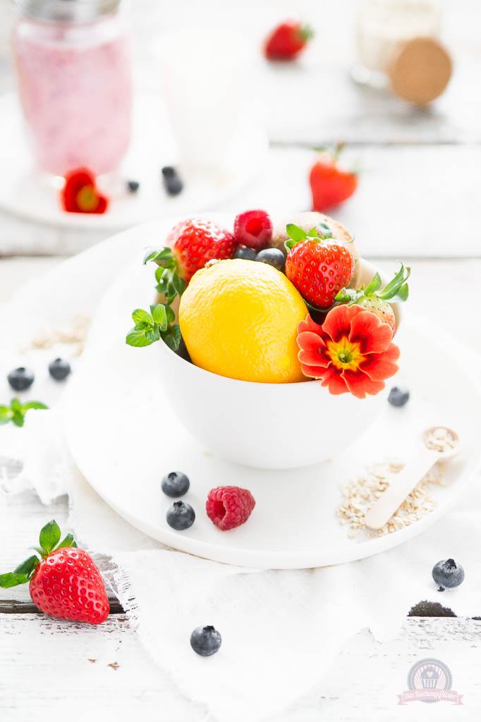 Tutti Frutti Breakfast Smoothie