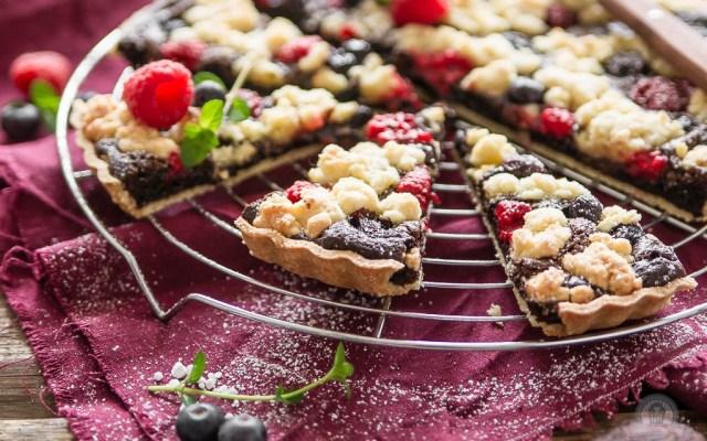 Brownie Cookie Tarte – wenn sich schokoladiges, fruchtiges und knuspriges verbindet…