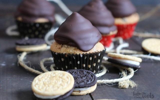 Oreo Nougat Cupcakes – ein Gastbeitrag von Bake to the roots…