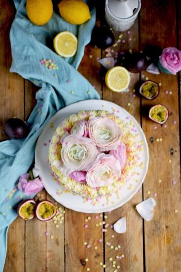 Zitronen Maracuja Torte