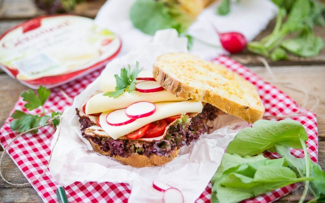 """Karottenbrot – """"Dein Frühstück mit Géramont®: Pausenbrotideen für die Kleinen"""" – [WERBUNG]"""