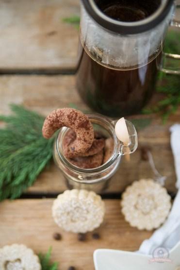 Espressokipferl und Kaffeetaler