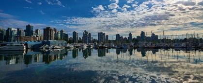 West End Vancouver: Blick auf die Skyline