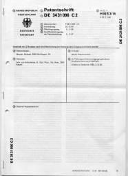 Patentschrift-Frequenzweiche Norbert Maurer