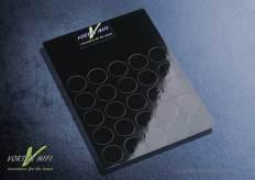 Vortex HiFi 2D Entstör - Chips 20mm-Schwarz