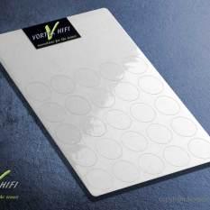 Vortex HiFi 2D-Entstör - Chips - 20mm Transparent