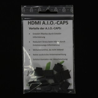 HDMI AIO CAP Verpackungseinheit 10 Stück