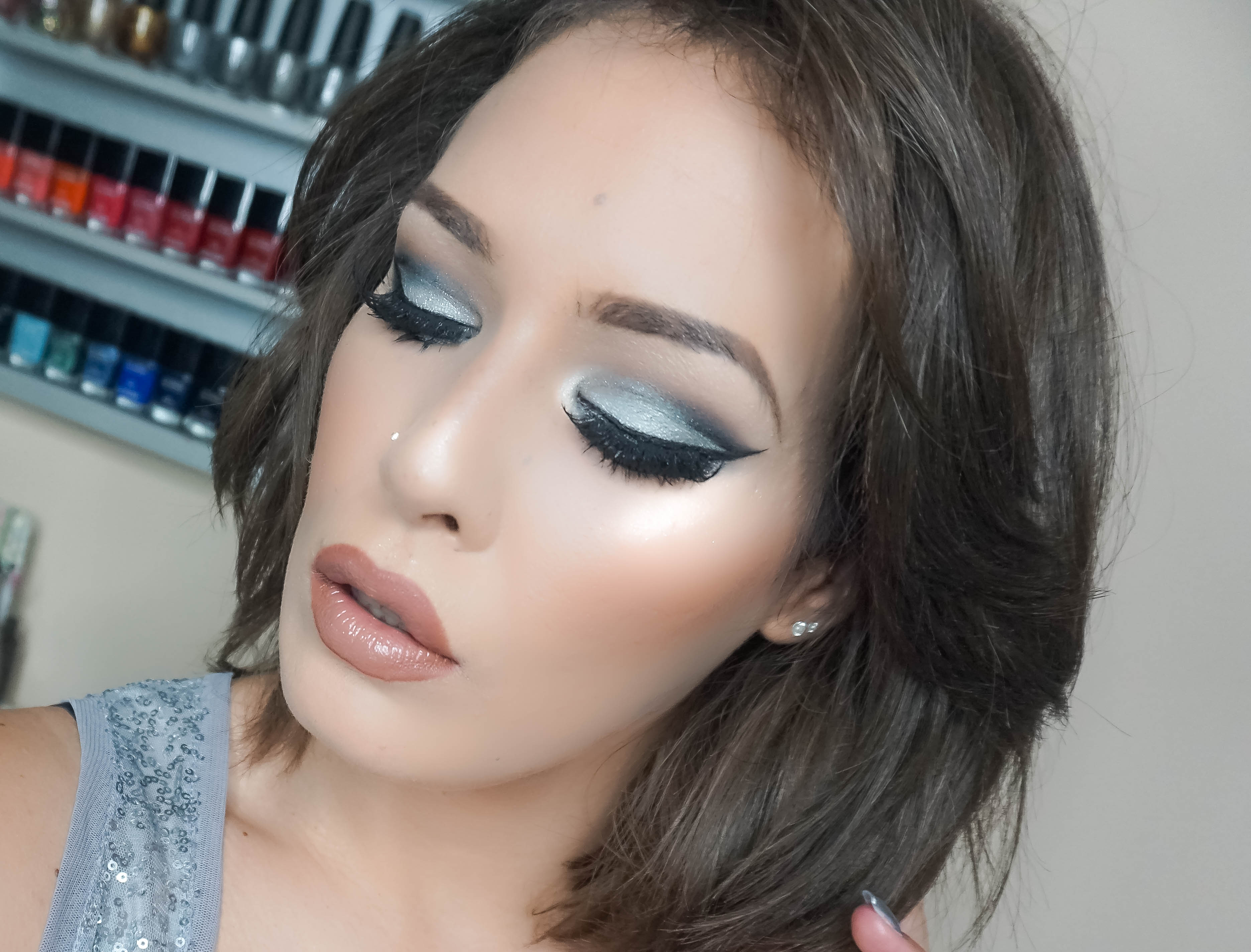 LAST MINUTE NEW YEAR'S EVE MAKEUP LOOK