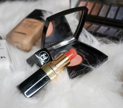 Chanel Rouge Coco 468 Michèle, Chanel Joues Contraste blush 370 Élégance