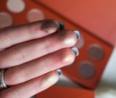 SWATCHES: Rusty Petals, Foil, Just a Rose, Golden Rule