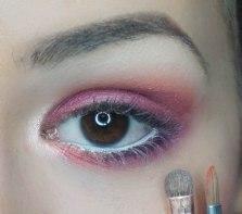 Highlight the inner corner of your eye; I used Equinox from Sleek's Highlighting palette Solstice