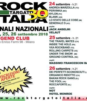 Rock targato Italia finali nazionali