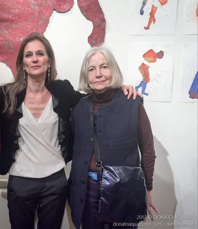 3 Chiara Pasetti con Colette Deblé, foto di Donato Aquaro, Novara 2017
