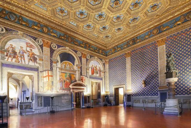 Palazzo Vecchio Firenze Sala dei Gigli
