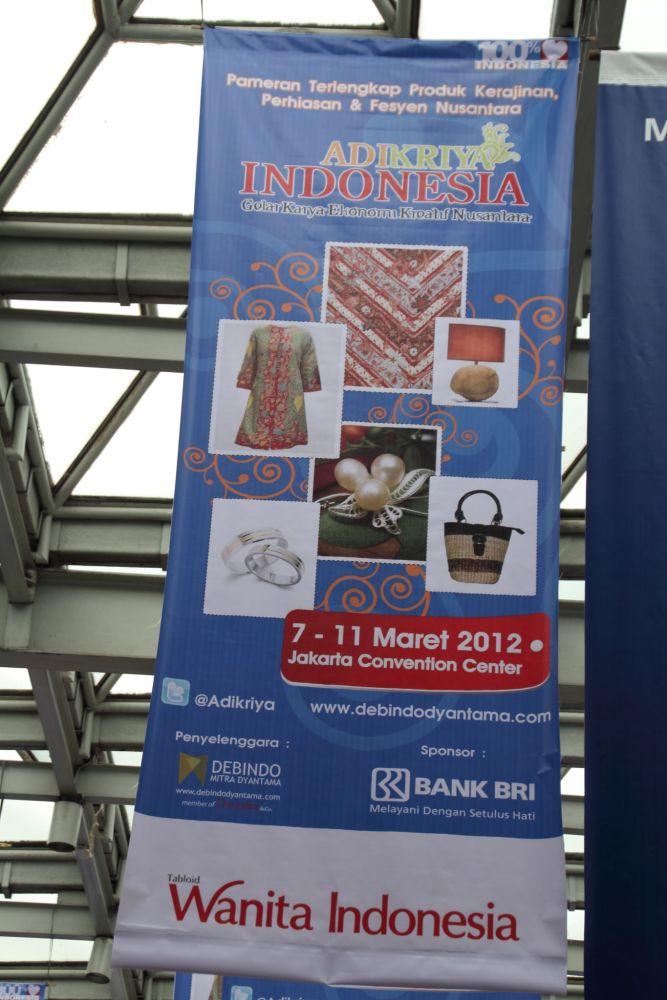 Adikriya Indonesia: Gelar Karya Ekonomi Kreatif Nusantara, 7 - 11 Maret 2012 (2/6)