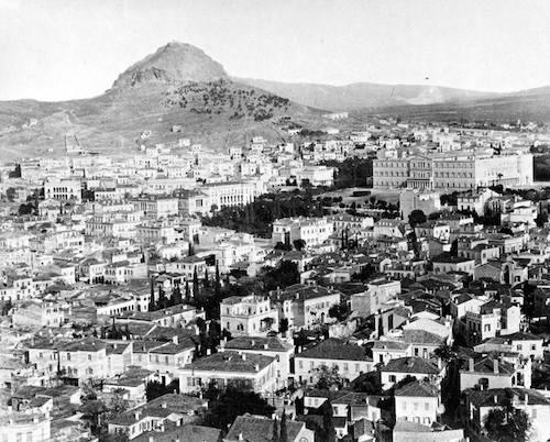 Τα «Πευκάκια» στο Λυκαβηττό το έτος 1890: τα πρώτα ίχνη πρασίνου στο γυμνό βουνό (από το αρχείο του συγγραφέα)