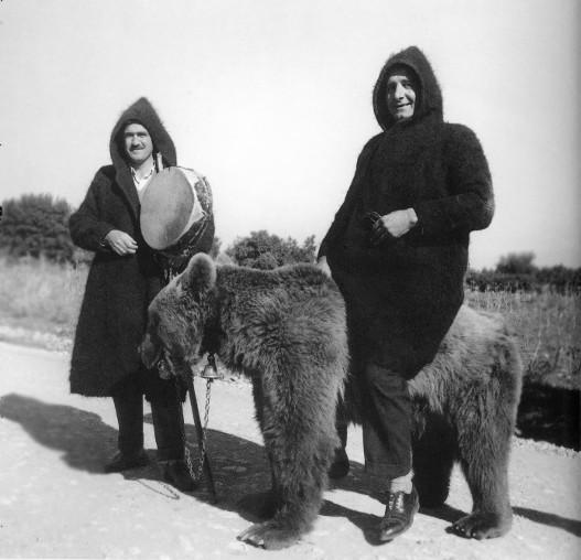 Πριν όχι πολλά χρόνια οι αρκούδες χρησίμευαν για την διασκέδαση των χωρικών. Αργότερα έγινε παραδεκτό ότι η άγρια ζωή αξίζει τον σεβασμό μας. (Φωτό: Τάκης Τλούπας)