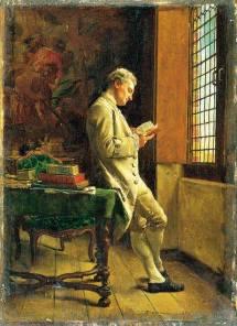 le-liseur-blanc-1857-musee-d-orsay-par-ernest-meissonier