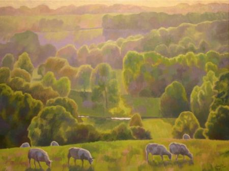 guy-warner-2014-evening-light-in-the-valley