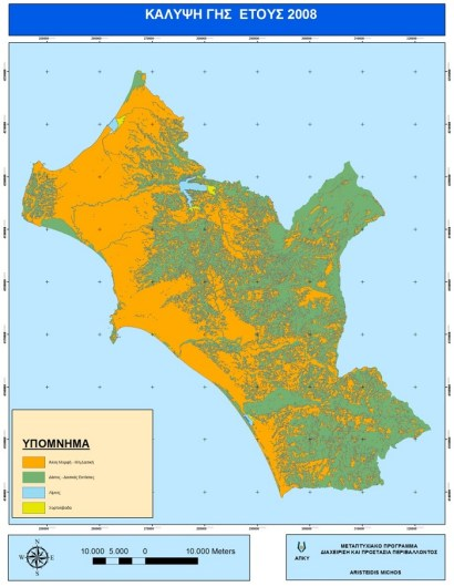 Χάρτης Νομού Ηλείας (2008)