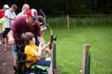 Archery on the O.E.C. range.