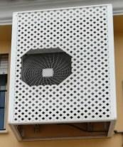 Cubrir aire acondicionado exterior