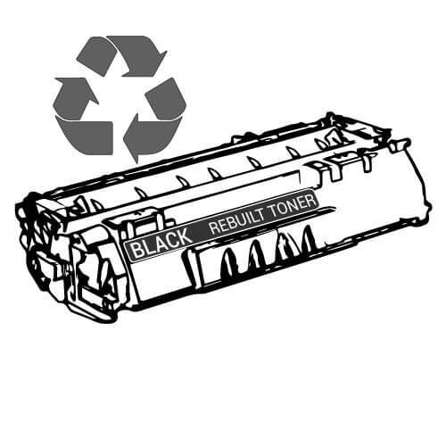 Rebuilt Toner 611810010 für Utax black