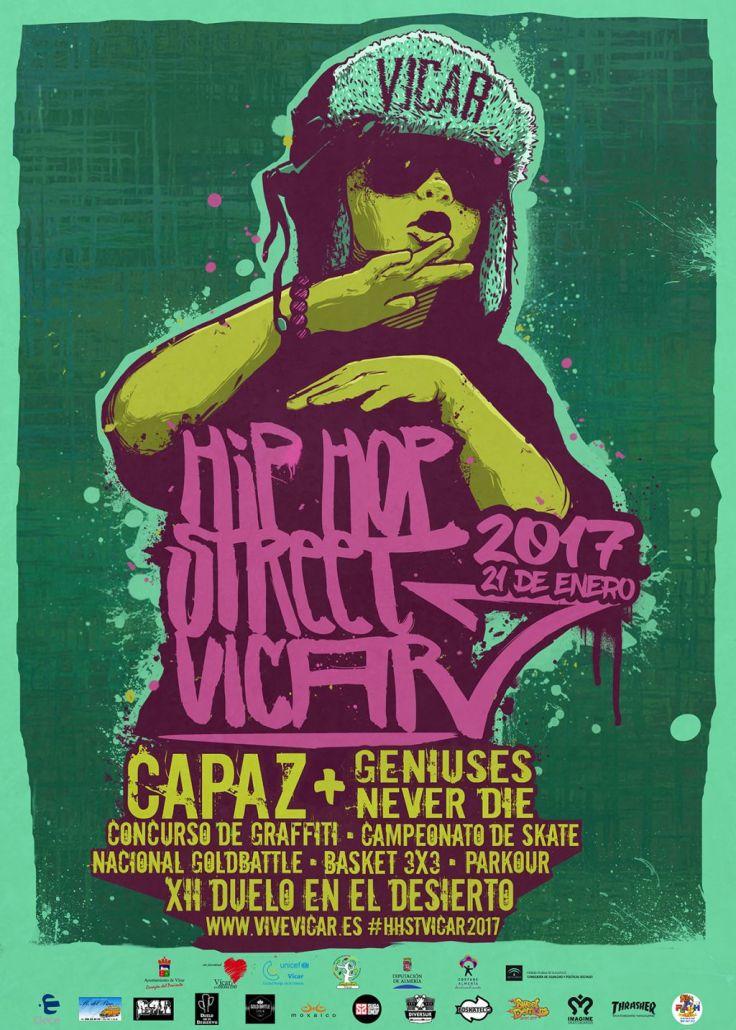 Cartel Hip-Hop Street Vicar 2017