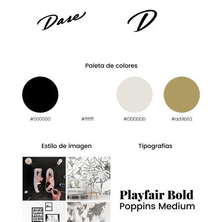Plantilla de Brandboard para Canva. Brandbook / Branding template
