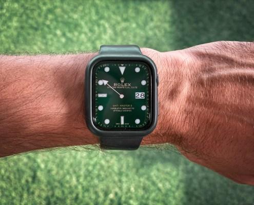 Esferas Apple Watch Rolex