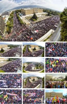 Συλλαλητήριο ΠΑΜΕ 1η Νοέμβρη 2014