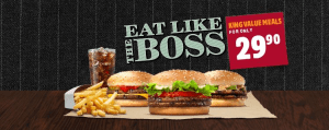 BURGER KING® introduces the 'Eat Like a Boss' campaign