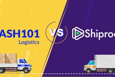 Shiprocket vs Dash101 Logistics