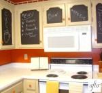 хранение рецептов на дверках кухни