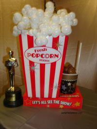 PARTY FIESTA BALLOON DECOR Pops Their Tops Over Popcorn ...