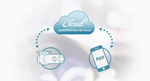 Dash cam connected to the BlackVue cloud, connected to your smart phone app