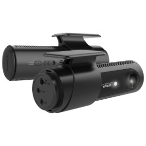 Product photo of the LGD521 front and rear dash cam