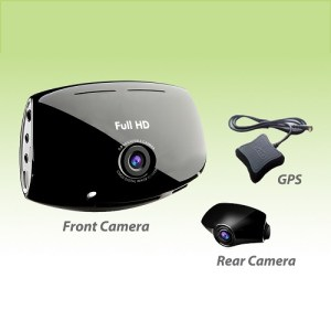 Urive MD-8000P dual channel dash cam