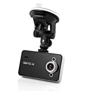 A closeup of the K6000 dash cam