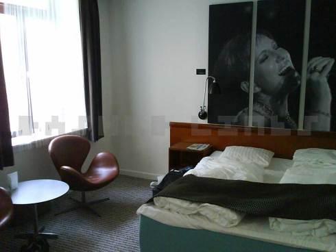 Hotel room, Copenhagen