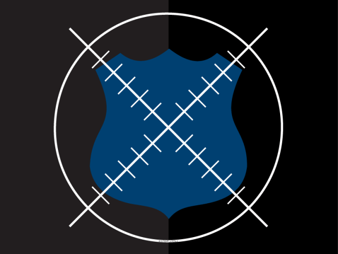 Shield in crosshairs