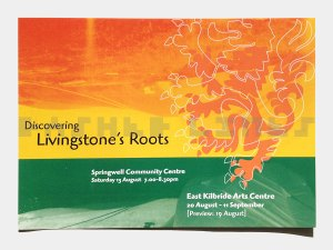 Discovering Livingstone's Roots flyer - front