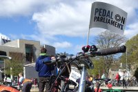 Pedal on Parliament at Holyrood 2015