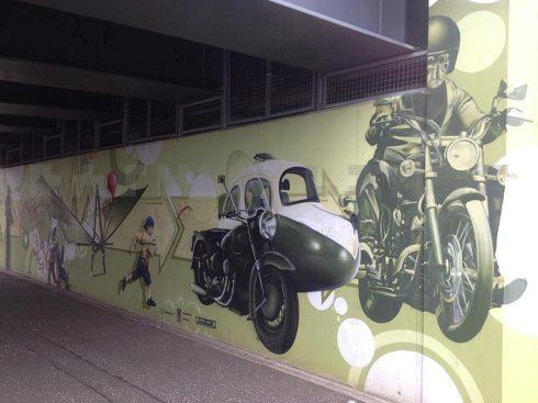 underpass mural art