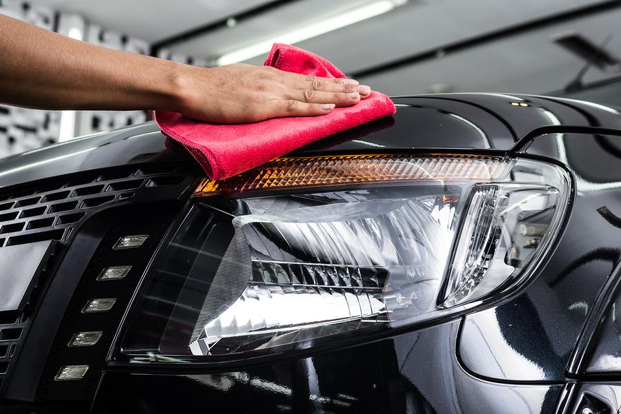 Headlight Cleaning