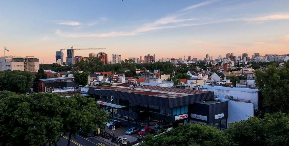 View From El Monumental Stadium