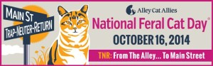 National Feral Cat Day Logo