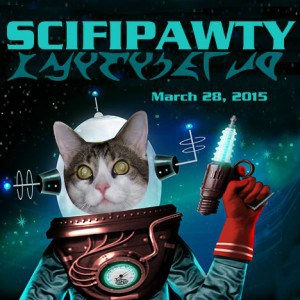 SciFiPawty 2017 with Boris Kitty for One by One Rescue